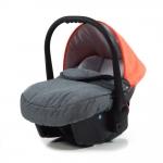 Babyschale für Voletto Happy Colour - Grau-Orange