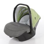Babyschale Milan (0-13 kg) für Voletto Happy Colour Grau-Hellgrün **NEU**
