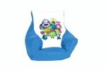 "Kinder-Sitzsack ""Monster"", blau"