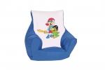 """Kinder Mini Sitzsack """"Pirat"""" blau"""