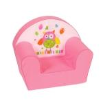 """Kinder-Sessel """"Eule"""", rosa"""