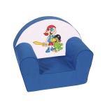 "Kinder-Sessel ""Pirat"", blau"