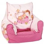 """Kinder-Sitzsack """"Spielzimmer, pink"""""""