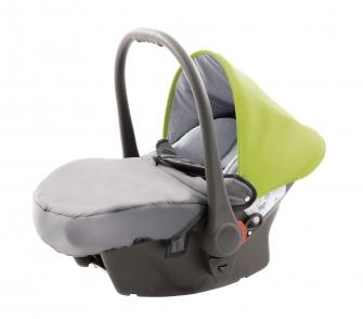 Babyschale für Voletto Sport Grau-Lemon