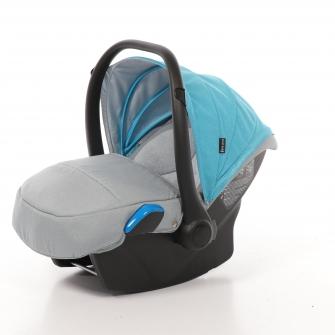 Babyschale Milan (0-13 kg) für Voletto Happy Colour Grau-Blau **NEU**