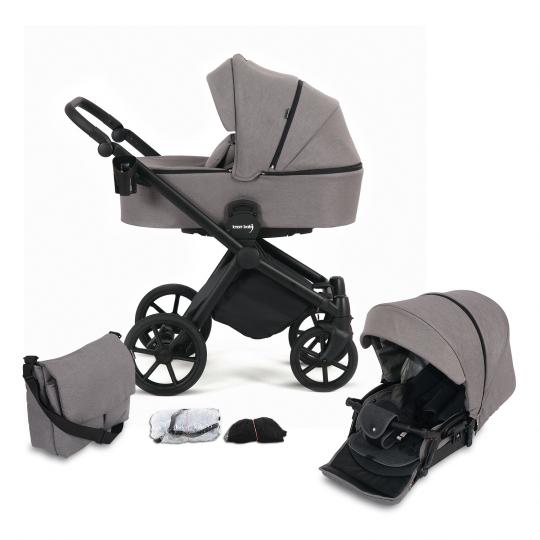 Kombi-Kinderwagen Life+ 2.0 Black Edition, Taupe