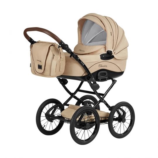 knorr baby gmbh kombi kinderwagen classico creme online kaufen. Black Bedroom Furniture Sets. Home Design Ideas