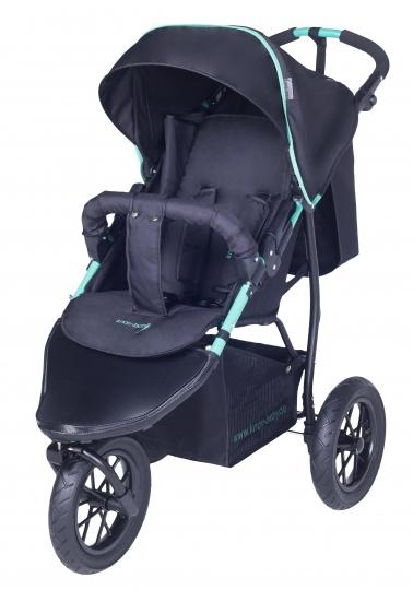 knorr baby gmbh sportwagen joggy s schwarz gr n online kaufen. Black Bedroom Furniture Sets. Home Design Ideas