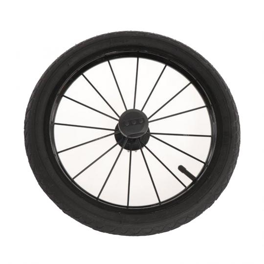 Kinderwagen Rad schwarz für Classico, PROFIL 2, 14 Zoll, schwarz