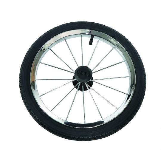 Kinderwagen Rad chrom für Classico, PROFIL 2, 14 Zoll, chrom