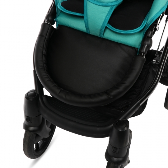 knorr baby gmbh kombi kinderwagen piquetto uni smaragd. Black Bedroom Furniture Sets. Home Design Ideas