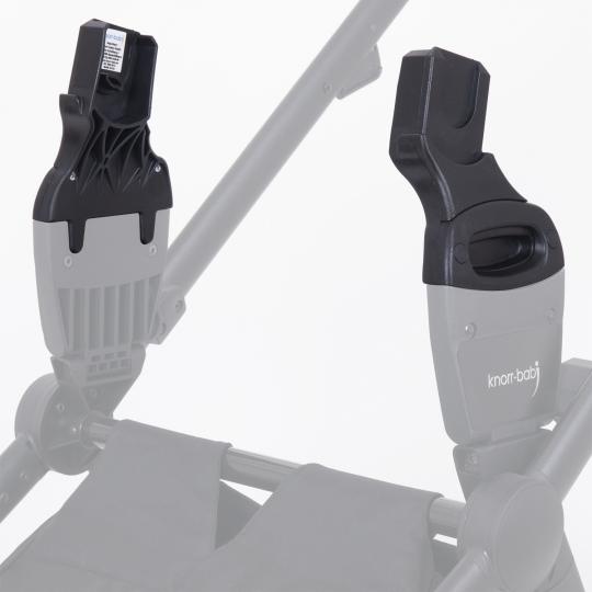 schwarz knorr-baby Kinderwagen New Easy-Click-System knorr-baby 35092 Adapter 35092