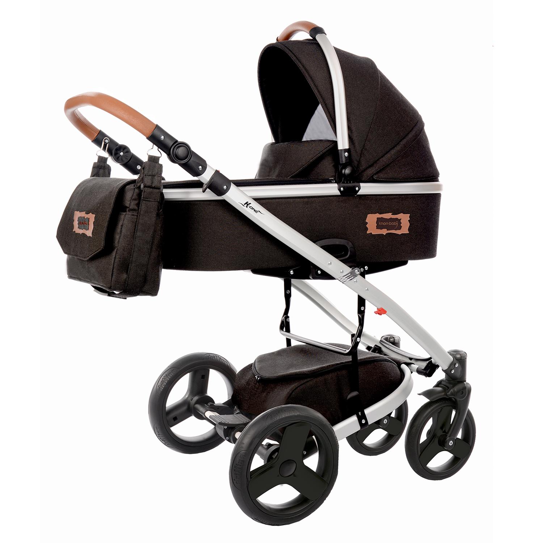 knorr baby gmbh kombi kinderwagen k one schwarz nur noch 1 st ck verf gbar online kaufen. Black Bedroom Furniture Sets. Home Design Ideas