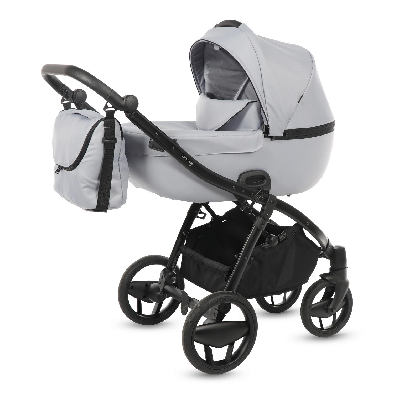knorr baby gmbh kombi kinderwagen piquetto uni hellgrau. Black Bedroom Furniture Sets. Home Design Ideas