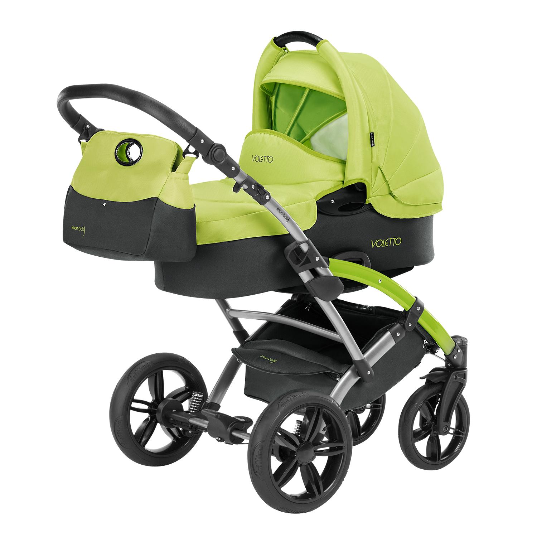 knorr baby gmbh kombi kinderwagen voletto sport grau lemon online kaufen. Black Bedroom Furniture Sets. Home Design Ideas