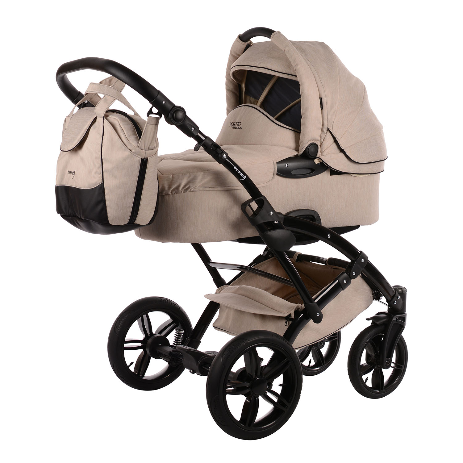 knorr baby gmbh kombi kinderwagen voletto premium beige online kaufen. Black Bedroom Furniture Sets. Home Design Ideas