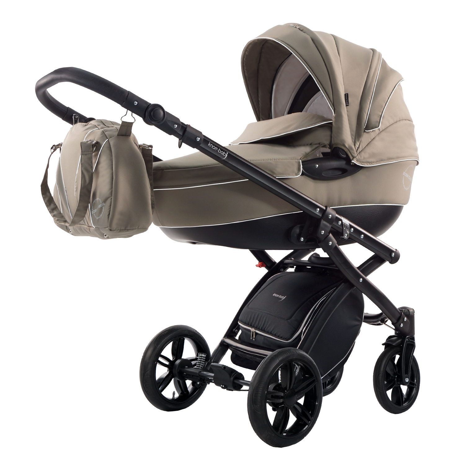 knorr baby gmbh kombi kinderwagen alive born to ride beige online kaufen. Black Bedroom Furniture Sets. Home Design Ideas