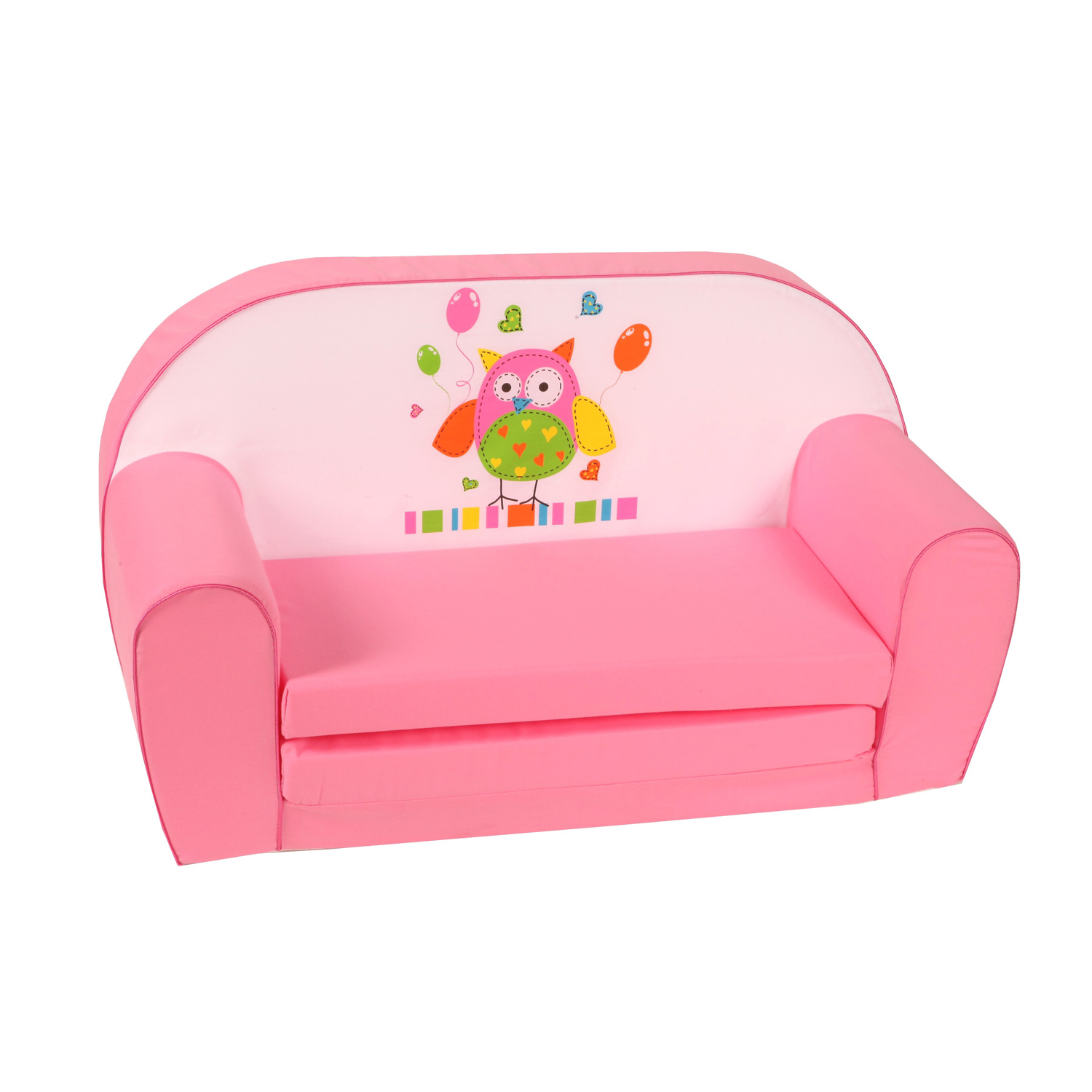 knorr baby gmbh kinder schlafsofa eule rosa online kaufen. Black Bedroom Furniture Sets. Home Design Ideas