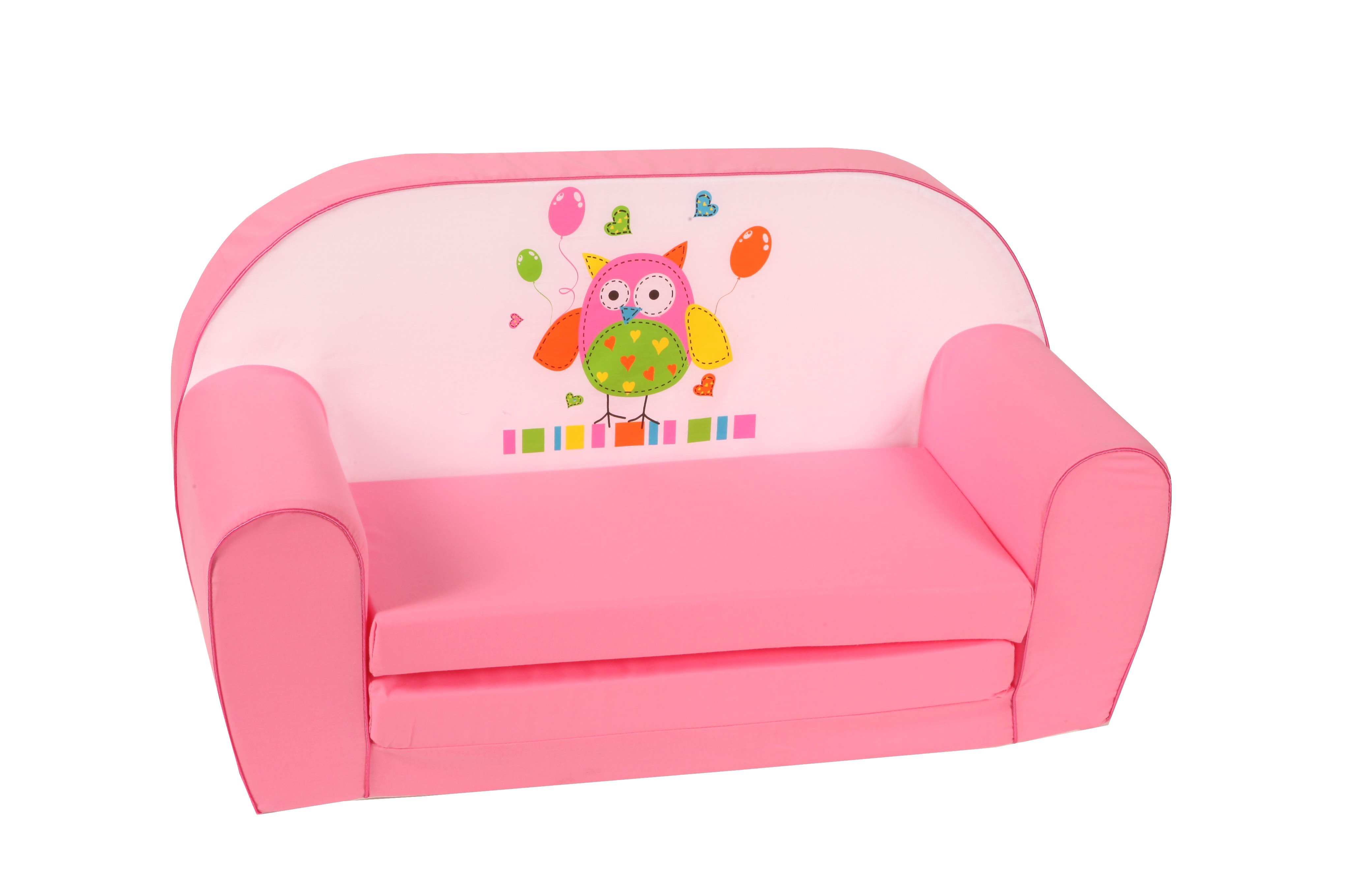 Knorr baby gmbh kinder schlafsofa eule rosa online for Schlafsofa rosa