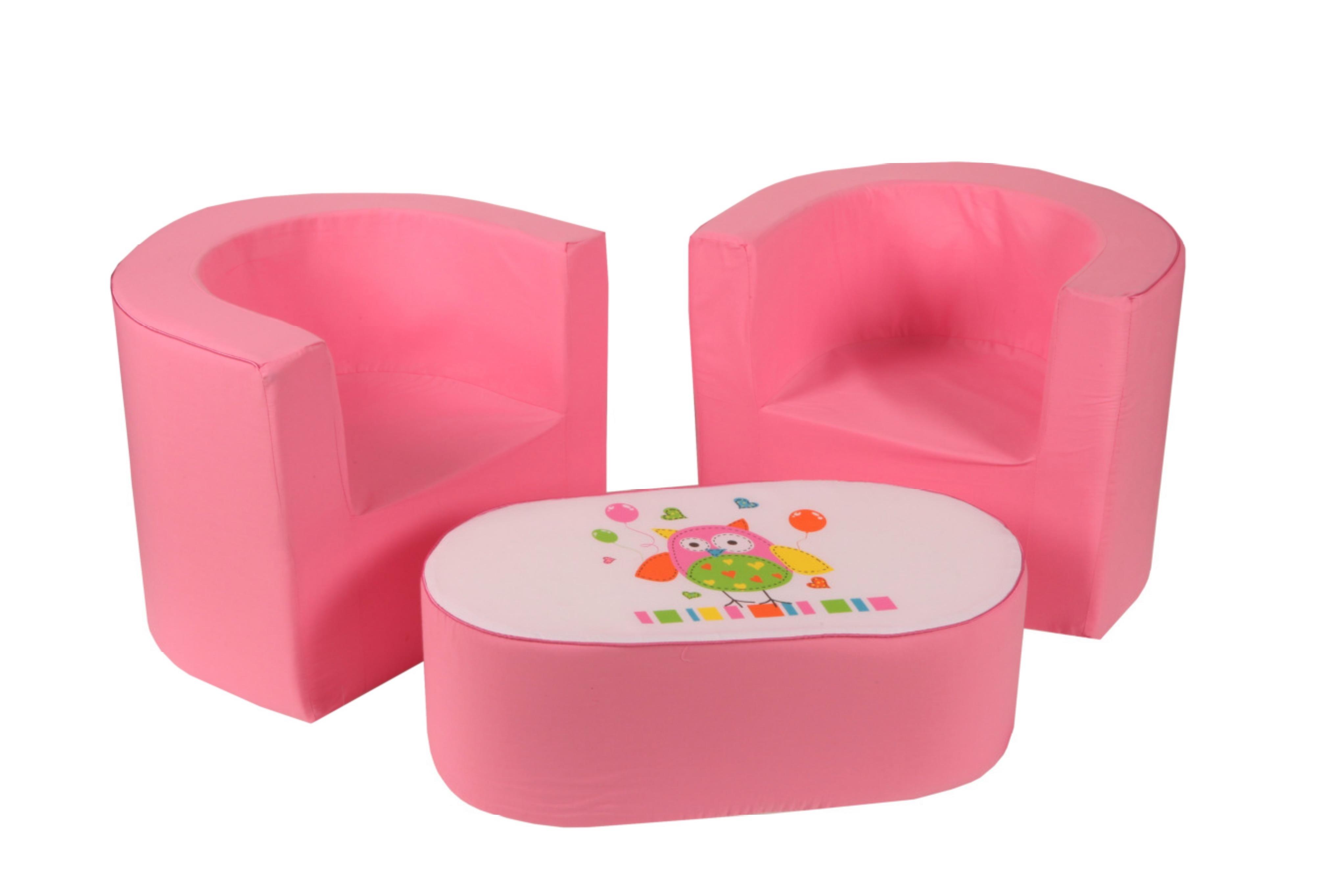 knorr baby gmbh kinder mini sitzgruppe eule online. Black Bedroom Furniture Sets. Home Design Ideas