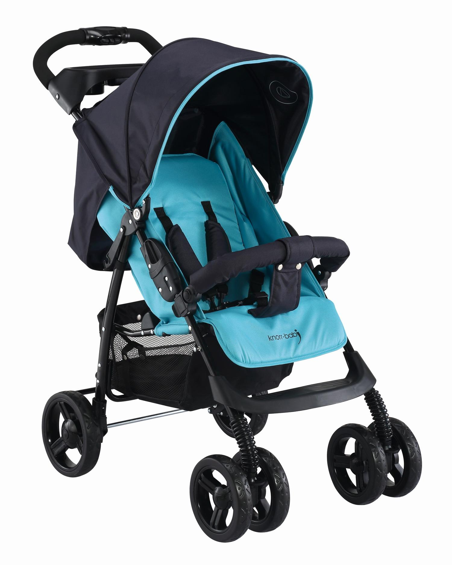 knorr baby gmbh sportwagen v easy fold happy colour blau online kaufen. Black Bedroom Furniture Sets. Home Design Ideas