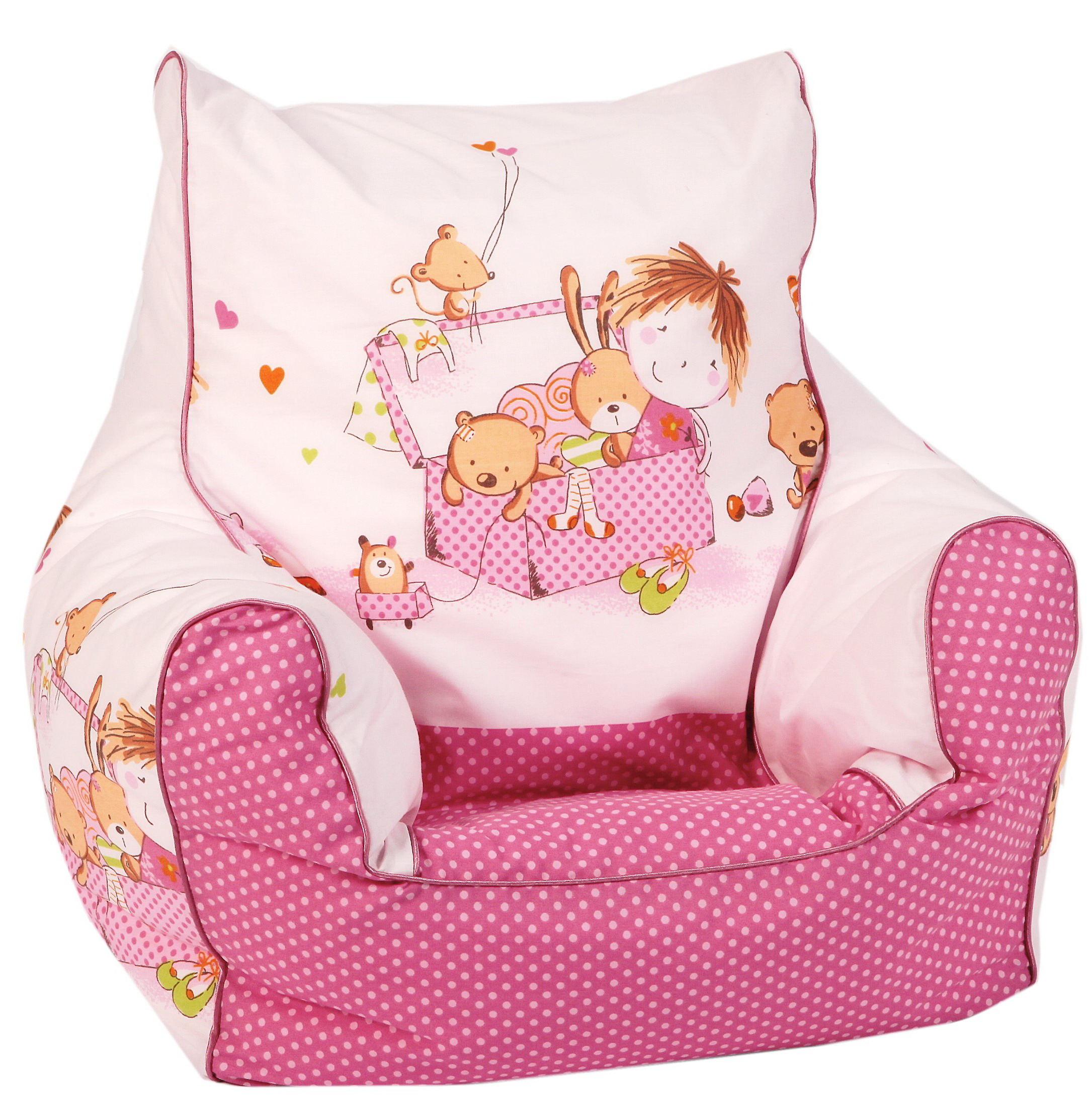 knorr baby gmbh kinder sitzsack spielzimmer pink online kaufen. Black Bedroom Furniture Sets. Home Design Ideas
