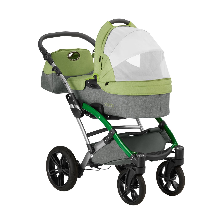 knorr baby gmbh kombi kinderwagen voletto happy colour grau hellgr n online kaufen. Black Bedroom Furniture Sets. Home Design Ideas
