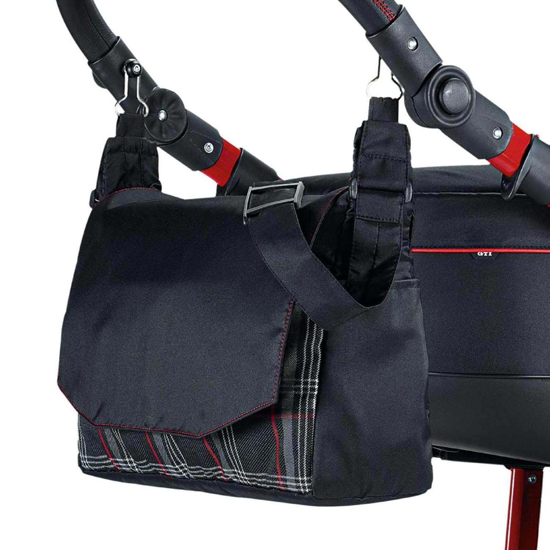 knorr baby gmbh kombi kinderwagen gti fb schwarz rot. Black Bedroom Furniture Sets. Home Design Ideas