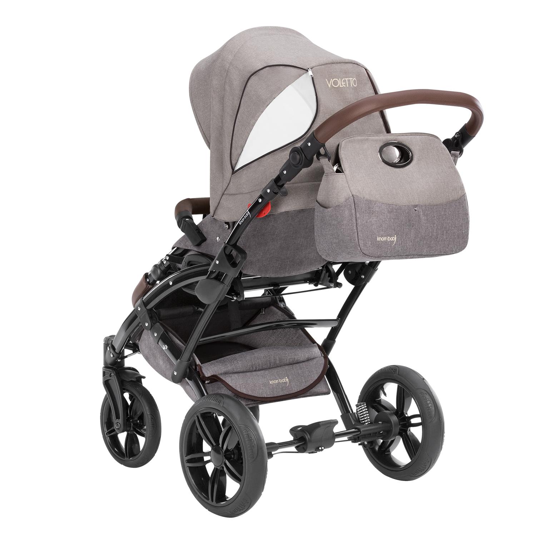 knorr baby gmbh kombi kinderwagen voletto happy colour beige braun online kaufen. Black Bedroom Furniture Sets. Home Design Ideas
